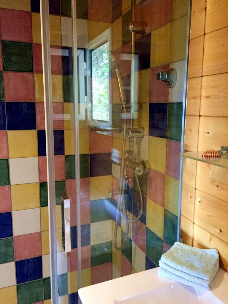 Badezimmer - Casita Kidogo auf einer Finca zwischen Frigiliana und Torrox