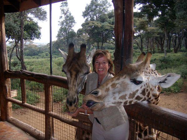 Über Evi - Nairobi Giraffencentre