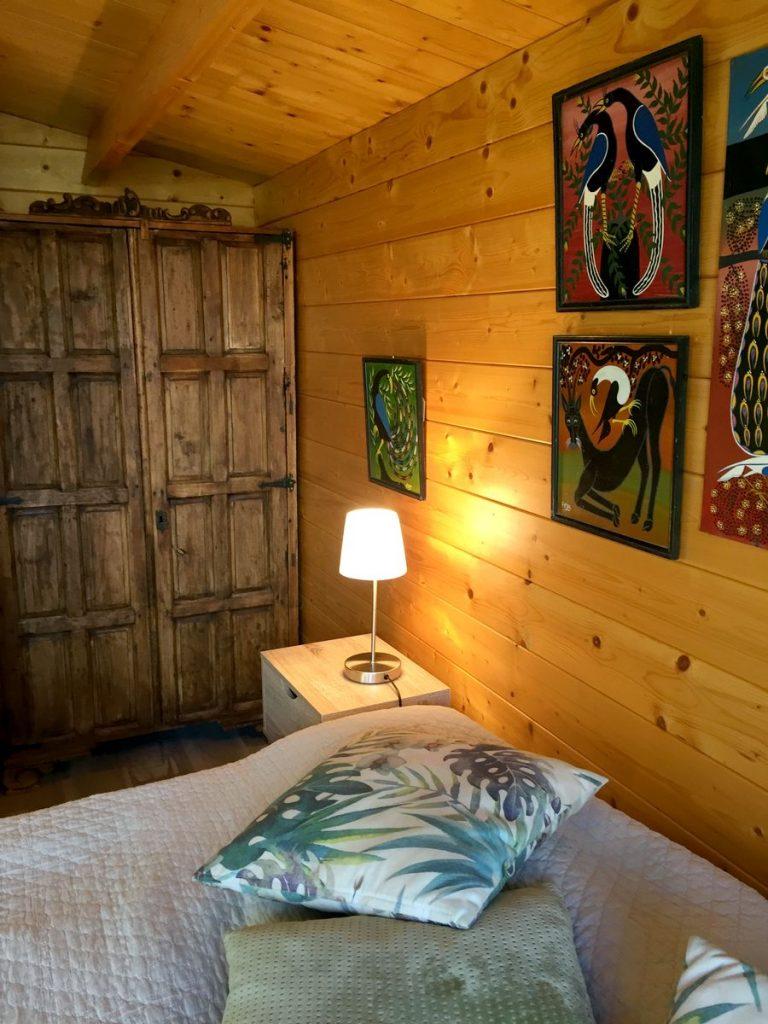 Schlafzimmer - Casita Kidogo auf einer Finca zwischen Frigiliana und Torrox
