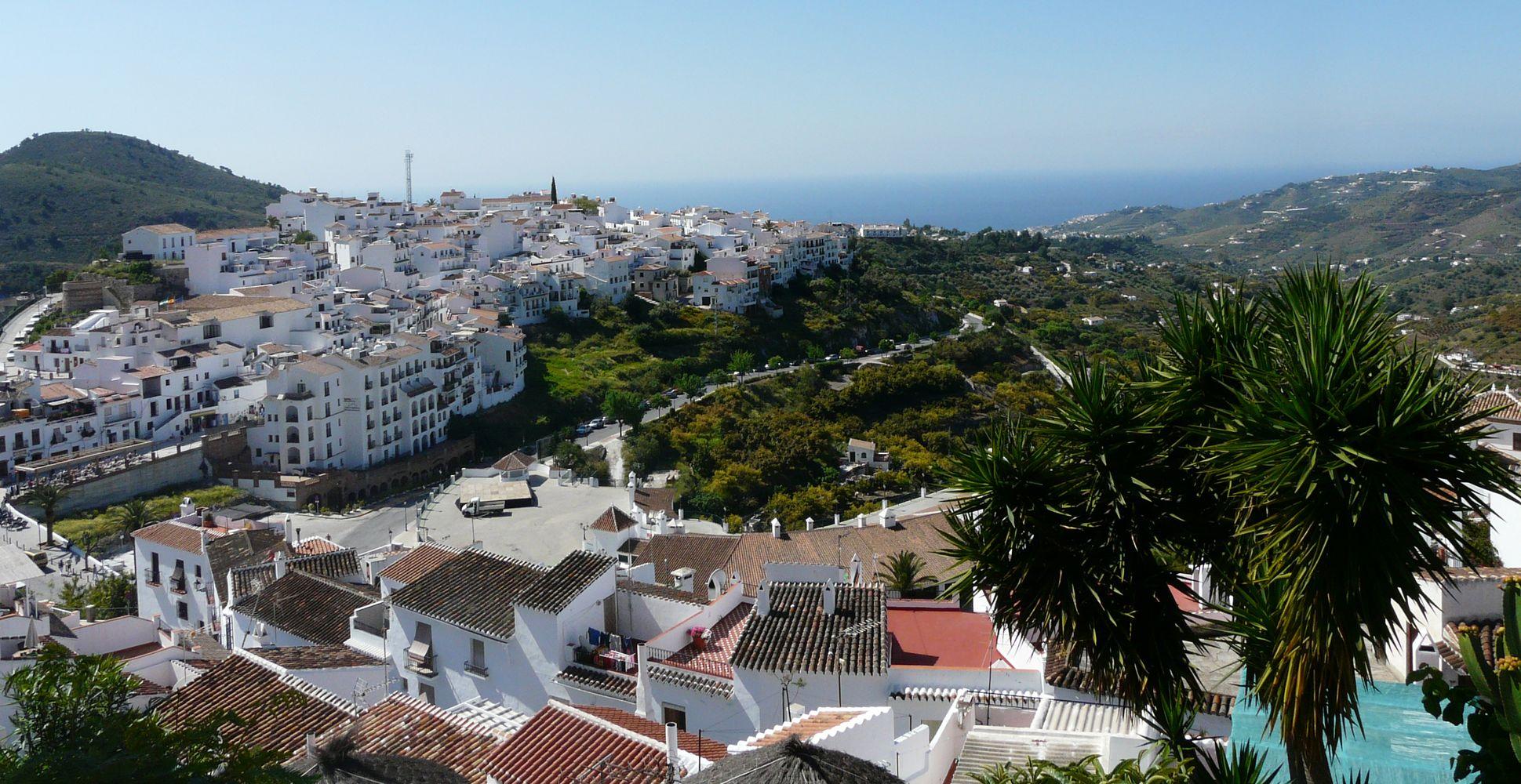 Frigiliana – weißes Dorf in Málaga