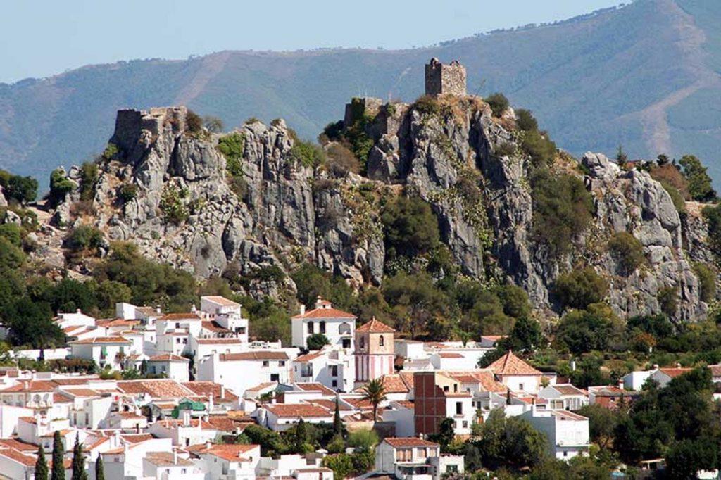 Gaucín en Málaga, Andalucía